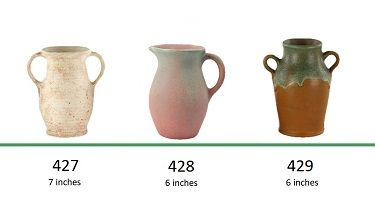 Muncie Pottery Shapes 427, 428, 429